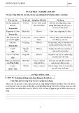 Đề cương ôn tập học kì 2 môn Ngữ văn 6 năm 2018-2019 - Trường THCS Tân Bình