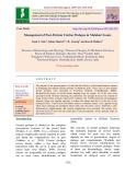 Management of post-partum uterine prolapse in Malabari goats