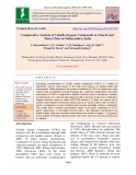 Comparative analysis of volatile organic compounds in class II and metro cities in Maharashtra, India