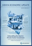 Report Unbundling the slack in private sector investment transforming agriculture sector productivity and linkages to poverty reduction