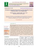 Participation appraisal of women farmers in dairy husbandry practices in Indo-pak border area of Punjab (India)