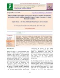 Effect of different nutrient management practices and zinc fertilization on various growth and development stages of maize (Zea mays L.) under dryland condition