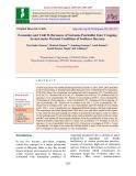 Economics and yield performance of sesbania-pearlmillet inter cropping system under dryland conditions of southern Haryana