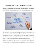 Marketing toàn cầu: Cần cảm xúc văn hóa