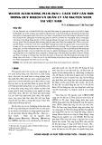 Water Accounting Plus (WA+): Cách tiếp cận mới trong quy hoạch và quản lý tài nguyên nước tại Việt Nam