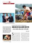 Di sản góp phần thúc đẩy tiến trình hòa giải: Môn đấu vật của hai miền Triều Tiên là di sản văn hóa thế giới