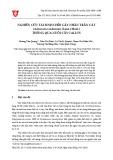 Nghiên cứu tái sinh chồi cây nhân trần cát (Adenosma indianum (Lour.) Merr.) thông qua nuôi cấy Callus