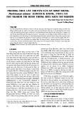 Phương thức lây truyền của ký sinh trùng Perkinsus olseni (Lester & Davis, 1981) và thử nghiệm trị bệnh trong điều kiện thí nghiệm