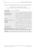 Nghiên cứu quy trình nhân giống in vitro cây Giảo cổ lam (Gynostemma pentaphyllium Thunb.)