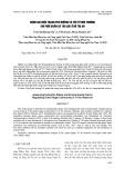 Đánh giá hiện trạng phú dưỡng và yếu tố môi trường chi phối quần xã tảo lục ở hồ Trị An