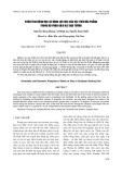 Phân tích động học và động lực học của hạt trên đĩa phẳng trong bộ phận gieo hạt đậu tương