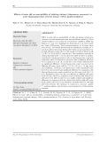 Ảnh hưởng của pH nước lên khả năng nhạy cảm đối với vi khuẩn gây bệnh hoại tử gan tụy cấp Vibrio parahaemolyticus trên tôm thẻ (Litopenaeus vannamei )