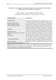 Tương tác giữa kiểu gen và môi trường đến tính trạng tăng trưởng và tỷ lệ sống trên tôm sú (Penaeus monodon) chọn giống thế hệ thứ 4
