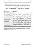 Xác định khả năng chịu đựng một số yếu tố môi trường nước (Nhiệt độ, pH và ooxxy hoàn tan) của cá chốt bông (Pseudomystus siamensis Regan, 1913)