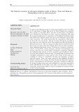 Nguồn lợi thủy sản tại tiểu vùng dự án thủy lợi Ô Môn - Xà No và Quản Lộ - Phụng Hiệp ở bán đảo Cà Mau
