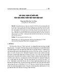 Vài phác thảo về biến đổi văn hóa nông thôn Việt Nam hiện nay
