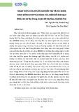 Nhận thức của người dân Bến Tre về sức khỏe cộng đồng dưới tác động của biến đổi khí hậu (Điển cứu: xã Tân Trung, huyện Mỏ Cày Nam, tỉnh Bến Tre)