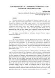 Cost inefficiency of commercial banks in Vietnam: Stochastic frontier analysis