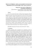 Impact of working capital management on financial performance of listed firms: The case of Vietnam