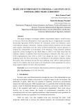 Trade and environment in Indonesia: Case study of Euindonesia free trade agreement
