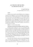 Quá trình phát triển hệ thống tài chính tiền tệ Việt Nam