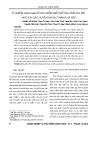 Ô nhiễm salmonella ở các điểm giết mổ gia cầm qui mô nhỏ tại các huyện ngoại thành Hà Nội