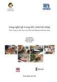 Báo cáo Làng nghề gỗ trong bối cảnh hội nhập - Thực trạng và lựa chọn về chính sách để phát triển bền vững