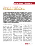 Viện Khoa học Thủy lợi Việt Nam: 60 năm đồng hành cùng sự phát triển của đất nước