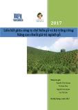 Báo cáo Liên kết giữa công ty chế biến gỗ và hộ trồng rừng: Nâng cao chuỗi giá trị ngành gỗ năm 2017