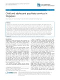 Child and adolescent psychiatry services in Singapore
