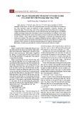 Thực trạng thái độ đối với hành vi ủng hộ xã hội của sinh viên trường Đại học Trà Vinh