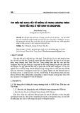 Tìm hiểu nội dung yếu tố thống kê trong chương trình toán tiểu học ở Việt Nam và Singapore