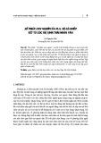 Số phận con người của M.A. Sô-lô-khốp xét từ góc độ sinh thái nhân văn