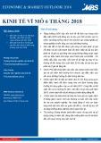 Báo cáo Kinh tế vĩ mô 6 tháng 2018