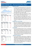 Market strategy daily: Hiệu ứng chốt hợp đồng tương lai