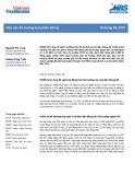 Báo cáo Thị trường trái phiếu tiền tệ - Tháng 6 năm 2019