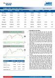 Bản tin chứng khoán MB – Chiến lược giao dịch ngày 22/01/2015