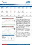 Bản tin chứng khoán MB – Chiến lược giao dịch ngày 19/12/2014