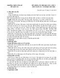 Đề cương ôn tập học kì 1 môn Ngữ văn 12 năm 2019-2020 - Trường THPT Uông Bí