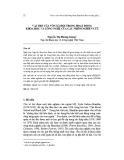 Vai trò của vốn xã hội trong hoạt động khoa học và công nghệ của các nhóm nghiên cứu