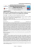 PID parameters optimization research for hydro turbine governor by an improved fuzzy particle swarm optimization algorithm