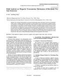 Field analysis on magnetic transmission mechanism of downhole tur-bine generator