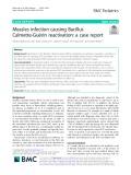 Measles infection causing Bacillus Calmette-Guérin reactivation: A case report