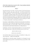 """Phân tích đoạn thơ sau trong bài Tây Tiến: """"Doanh trại bừng lên hội đuốc hoa... Sông Mã gầm lên khúc độc hành"""""""