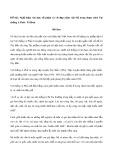 Nghị luận văn học số phận và vẻ đẹp nhân vật Mị trong đoạn trích Vợ chồng A Phủ - Tô Hoài