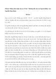"""Những cảm nhận của em về bài """"Thương tiếc nhà văn Nguyên Hồng"""" của Nguyễn Đăng Mạnh"""
