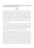 """Ý nghĩa nghệ thuật của hình tượng """"mảnh trăng"""" trong truyện ngắn """"Mảnh trăng cuối rừng"""" của Nguyễn Minh Châu"""