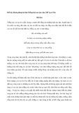 Bình giảng về bài thơ Tiếng hát con tàu của Chế Lan Viên