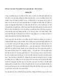 Cảm nghĩ về tác phẩm Tuyên ngôn độc lập – Hồ Chí Minh