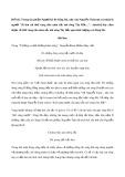 """Trong tác phẩm Người lái đò Sông Đà, nhà văn Nguyễn Tuân tự coi mình là người """"đi tìm cái thứ vàng của màu sắc núi sông Tây Bắc…"""". Anh/chị hãy cảm nhận về thứ vàng của màu sắc núi sông Tây Bắc qua hình tượng con Sông Đà"""